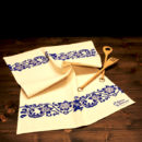 asciugamano-cucina-cotone-acanto-blu