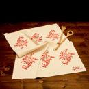 asciugamano-cucina-cotone-cornucopia-rosso