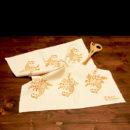 asciugamano-cucina-cotone-cornucopia-ruggine