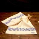 asciugamano-cucina-cotone-girasole-blu