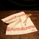 asciugamano-cucina-cotone-girasole-rosso
