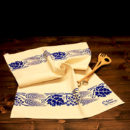 asciugamano-cucina-cotone-spiga-e-uva-blu