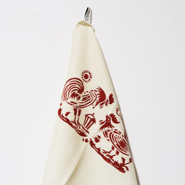 asciugamano-misto-lino-galli-rosso